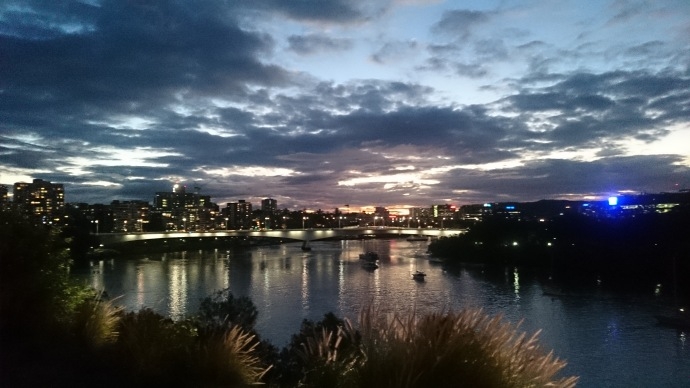 This view made me realize that my life in Brisbane will not be so bad
